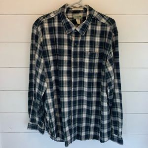 Men'sLL Bean XL flannel shirt